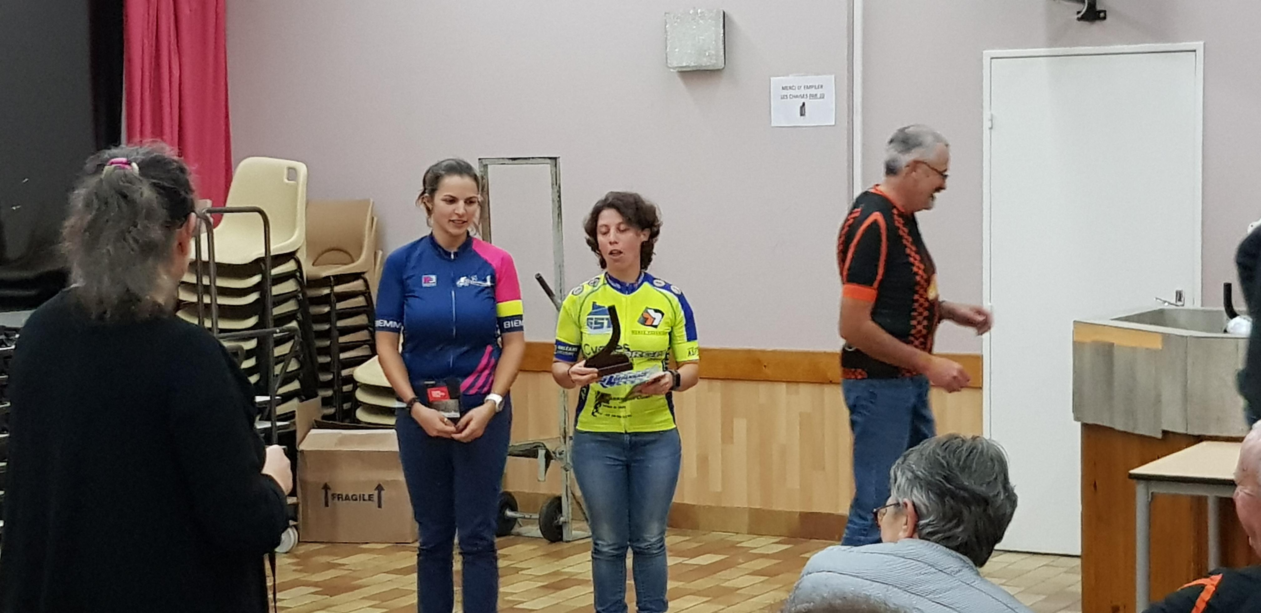 Sandrine Trophée route