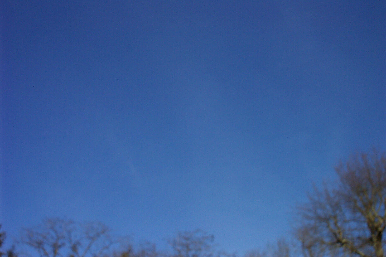 Un beau ciel bleu