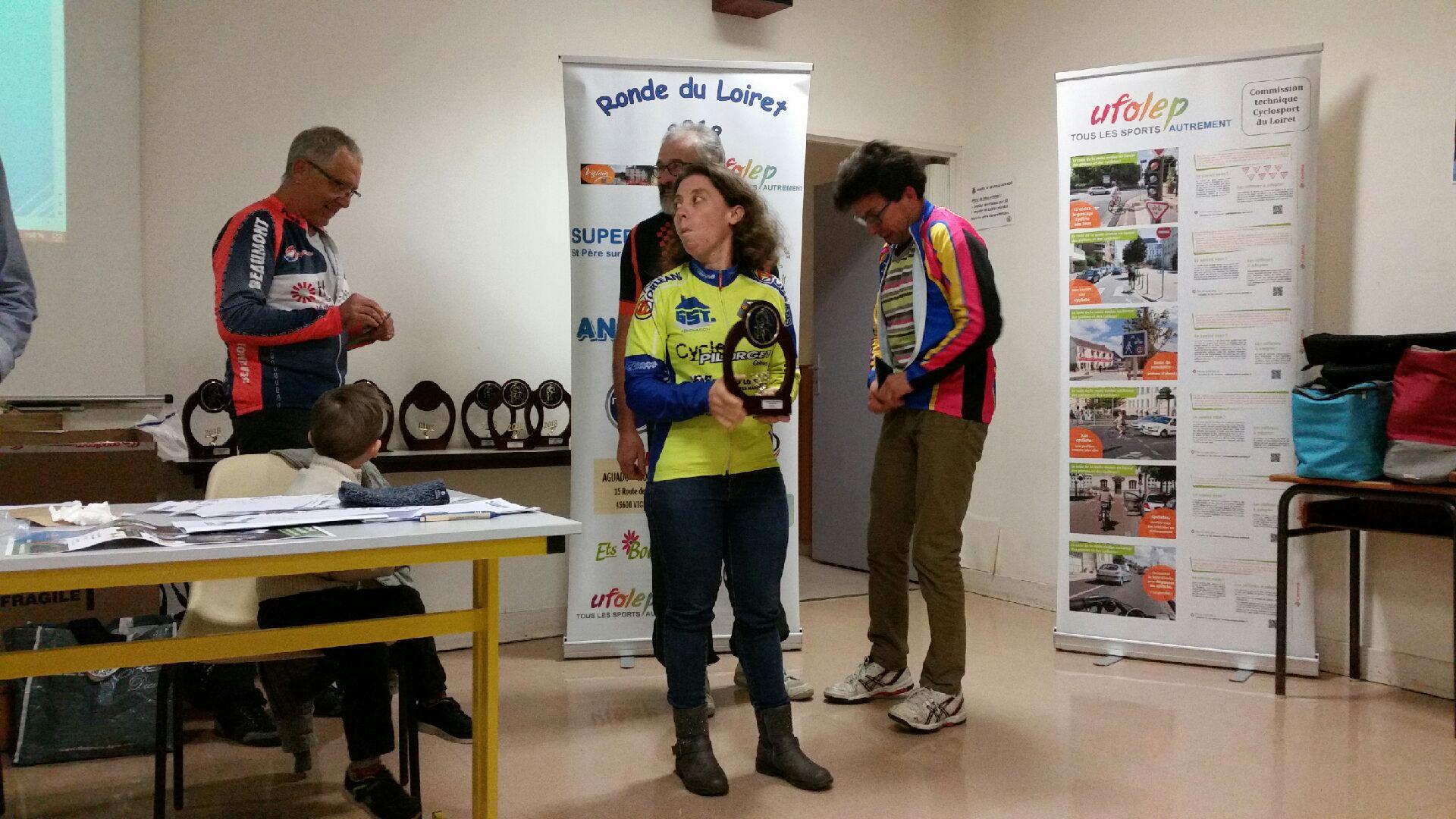 Trophée Sandrine